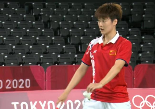 陈雨菲19分钟横扫速胜 国羽一姐奥运首秀尝开门红