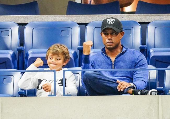 伍兹与11岁儿子查理搭档 计划出战PNC父子锦标赛