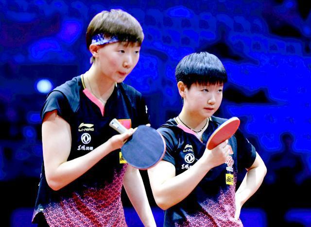 奥运模拟赛南阳站 孙颖莎王曼昱横扫夺得女双冠军