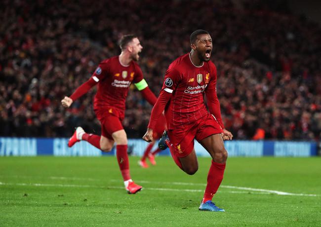 利物浦悍腰进球