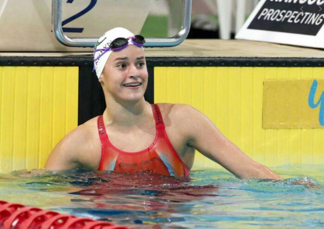 澳洲美少女破100仰世界纪录 成东京奥运头号热门