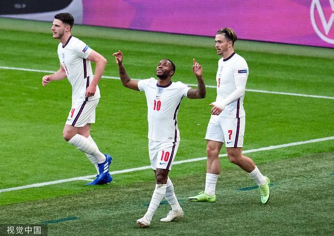 尴尬!英格兰3战只进2球获头名 刷新欧洲杯历史纪录