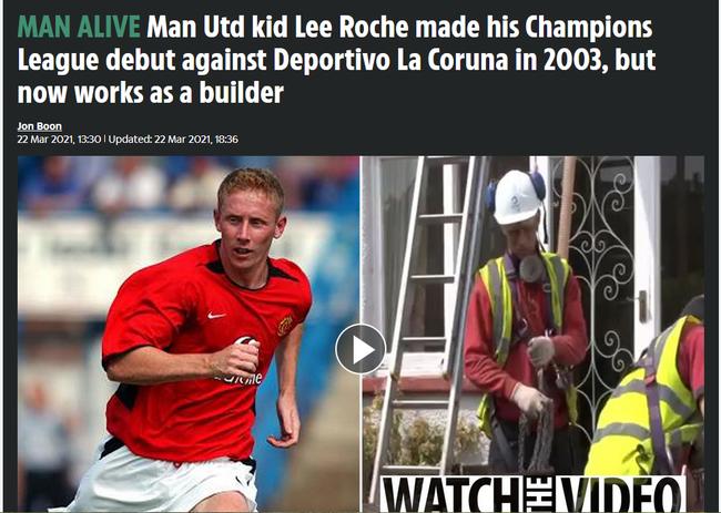曼联旧将退役后改行工地搬砖 曾出战过欧冠赛事