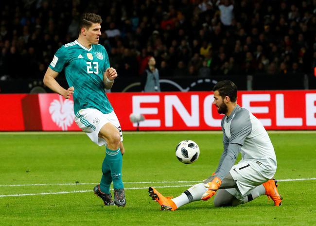 德国输了?踢巴西只是练手 世界杯仍是1号热门