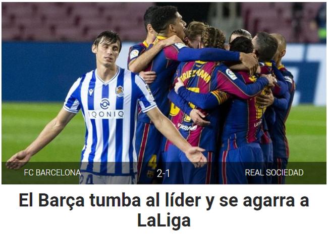 《每日体育报》:联赛还有的争!