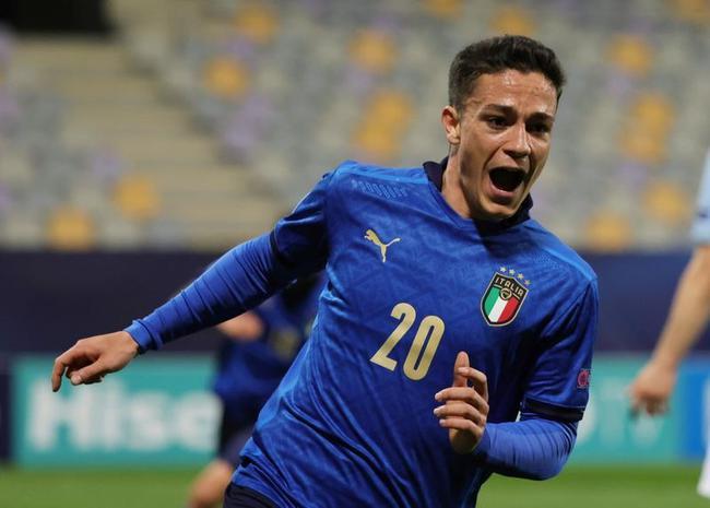 意大利为何带上0出场21岁射手?曼奇尼:他是新罗西