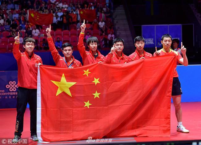 世乒赛中国夺冠