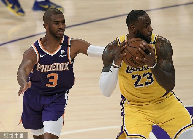 保罗:和浓眉詹姆斯关系大于篮球 上场就为争胜