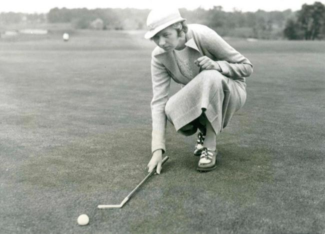 橡胶内核球时期的高尔夫球手(V)