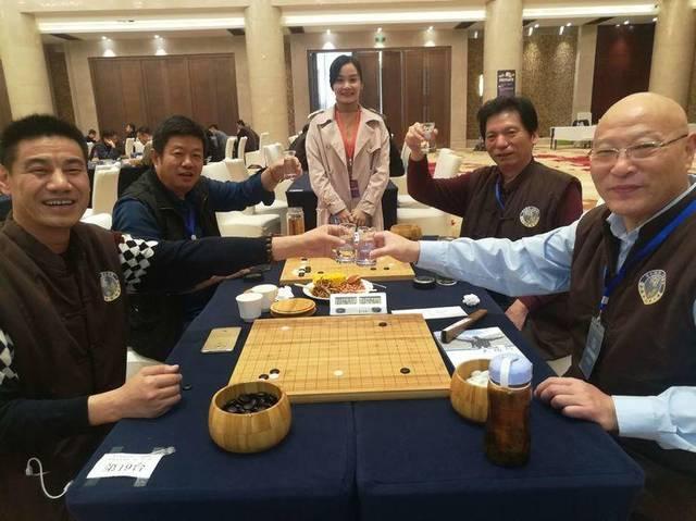 汉酱杯围棋赛展现棋酒文化交融