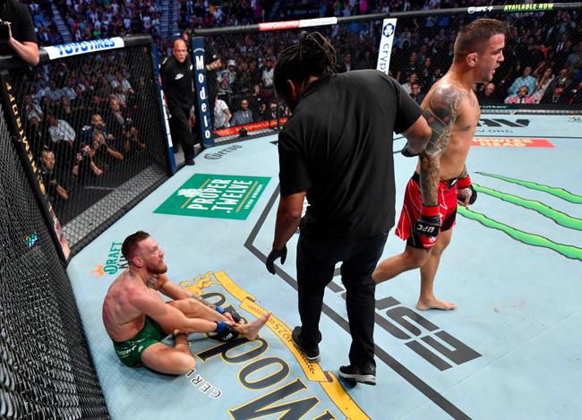 UFC264综述:康纳严重受伤 TKO再负普瓦里尔