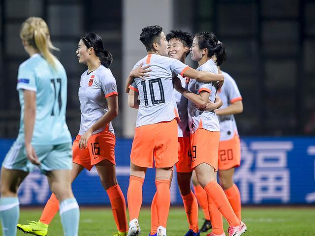 四国邀请赛中国女足4-1俄罗斯