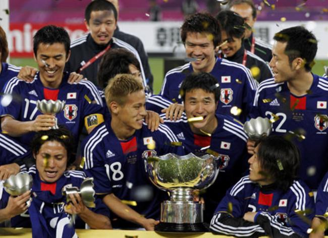 日本亚洲杯夺冠