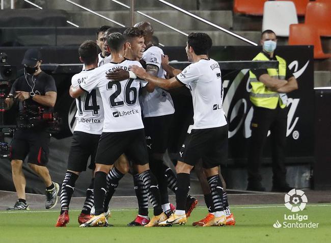 西甲-李康仁2助攻 瓦伦西亚4-2胜 贝蒂斯压哨绝杀