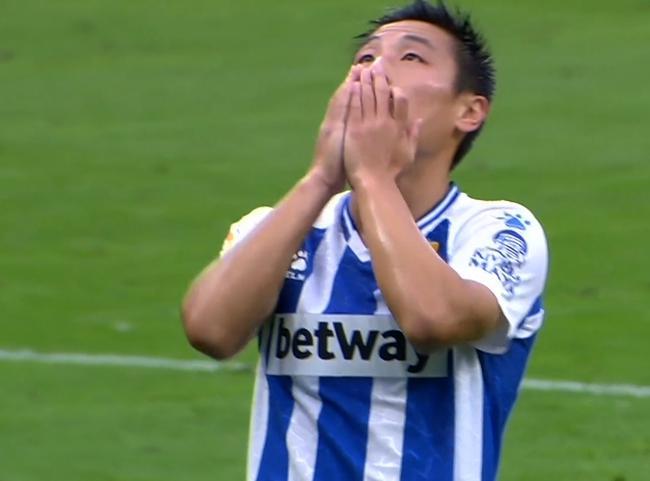 西乙-武磊首发头球偏出 西班牙人主场1-0胜登榜首