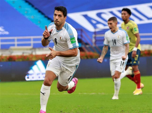 乌拉圭国家队官方:苏亚雷斯新冠检测阳性