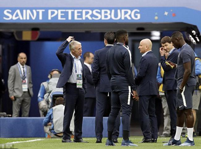 世界杯法国vs比利时首发:姆巴佩 格子PK德布劳内