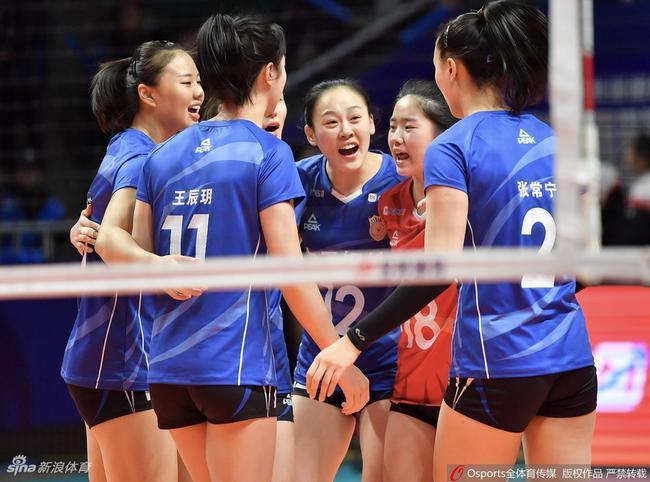 江苏女排胜八一争联赛第五 张常宁24分成功率55%