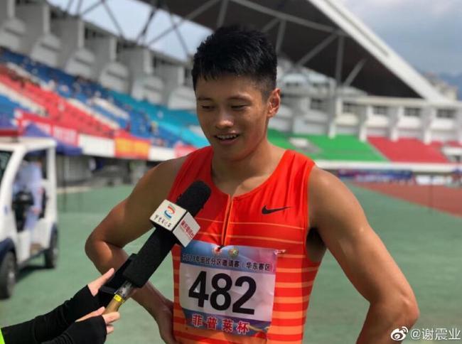 谢震业双主项同场竞技今年首度上演 他已经进入到奥运节奏……