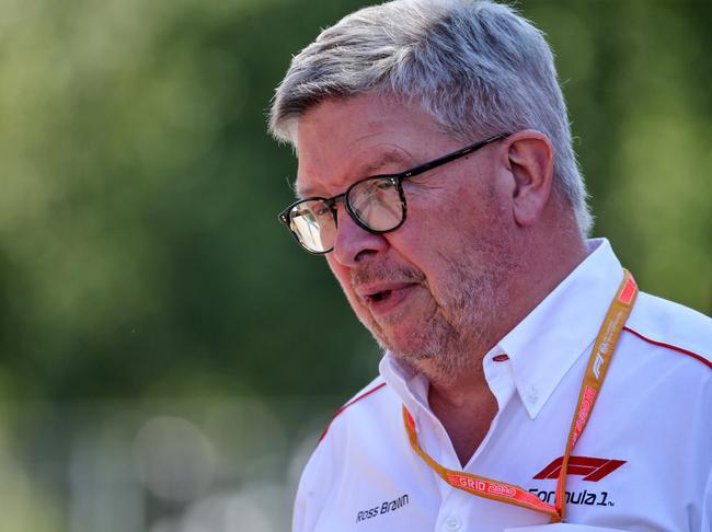 F1运行总监罗斯-布朗