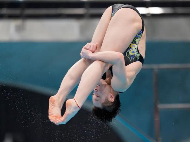 跳水世界杯三米板陈艺文夺冠 昌雅妮带伤出战摘铜