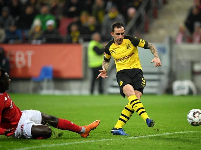 德甲-巴萨弃将出场2分钟破门 多特2-1客胜平纪录