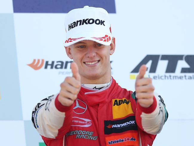 米克-舒马赫明年从F3晋级到F2