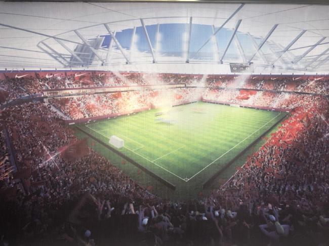 上港新主场2021赛季启用 专业球场承载中超红魔|图