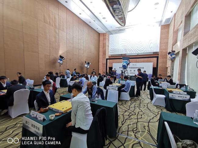2019围甲联赛总决赛现场