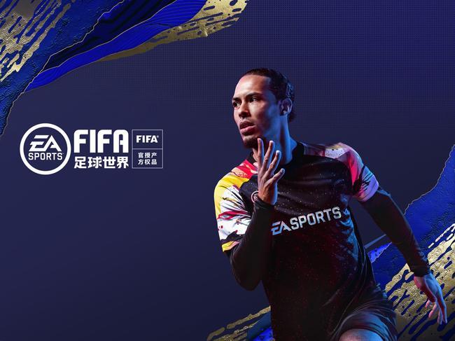 EA Sports FIFA封面人物范迪克