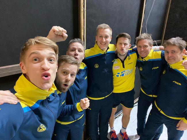 佩尔森和瑞典男队