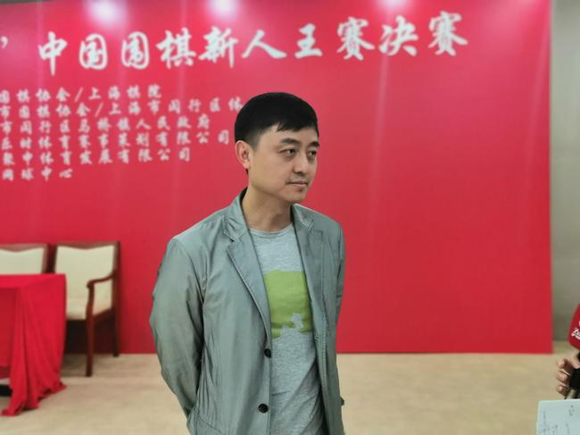 上海棋院副院长刘世振