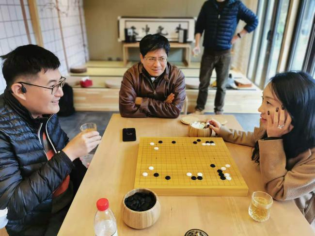 商界棋王北京队的选手已经最先赛前备战
