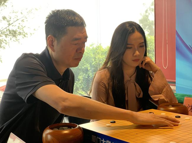 马晓春九段助阵,参与特别联棋赛