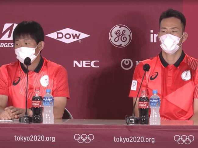 首轮对手出现新冠病例 日本男足队长:没觉得不安全