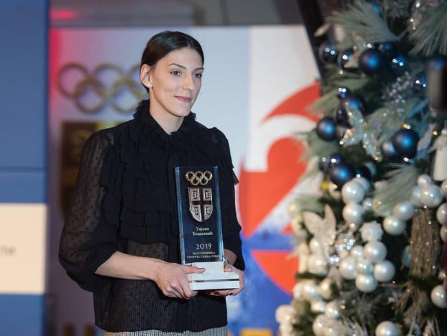 德约第8次当选塞尔维亚最佳 博斯科维奇获佳女