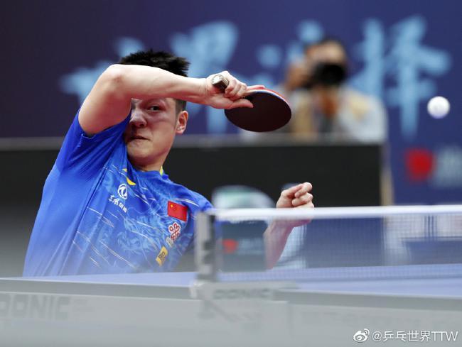 樊振东:每次获得冠军都很甜蜜 自己得到极大锻炼