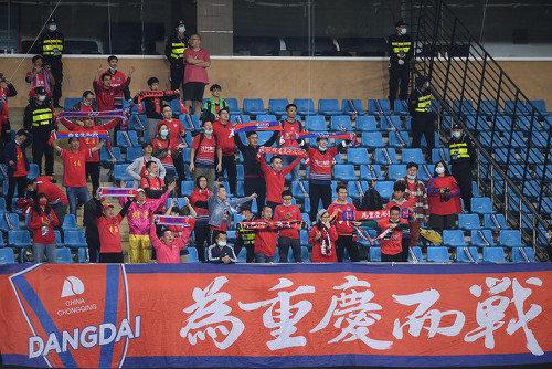 重庆发布2021赛季球队大名单:功勋离队 申花驰援