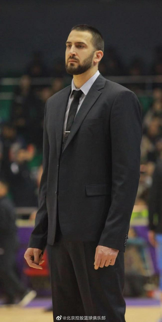 北控队官宣塞尔维亚籍助理教练加盟俱乐部