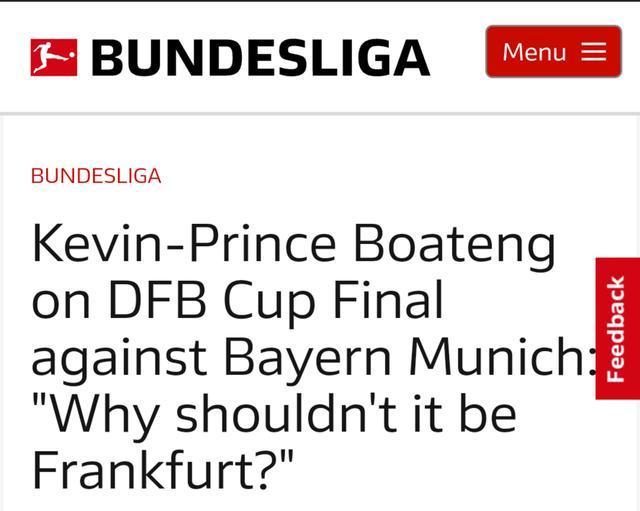 德甲名将:1冠军不一定归拜仁 已找到拜仁弱点