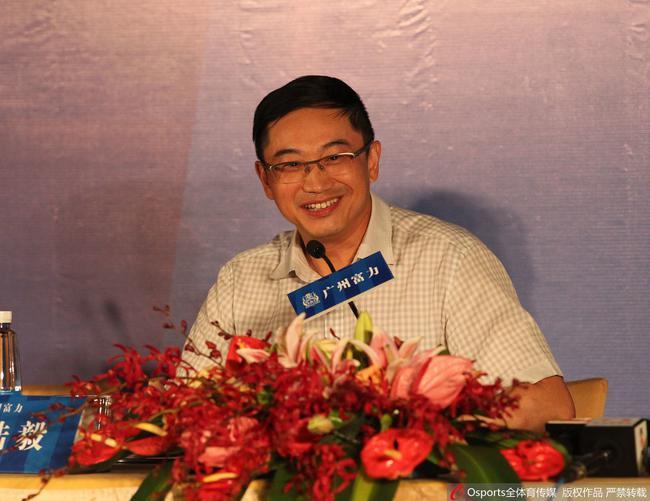 陆毅:当年收购凤凰很好玩 富力是中国足坛一股清流