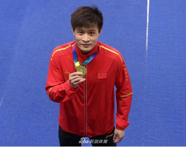 杨健怎能不痛哭! 四战全运会个人十米台终于夺冠