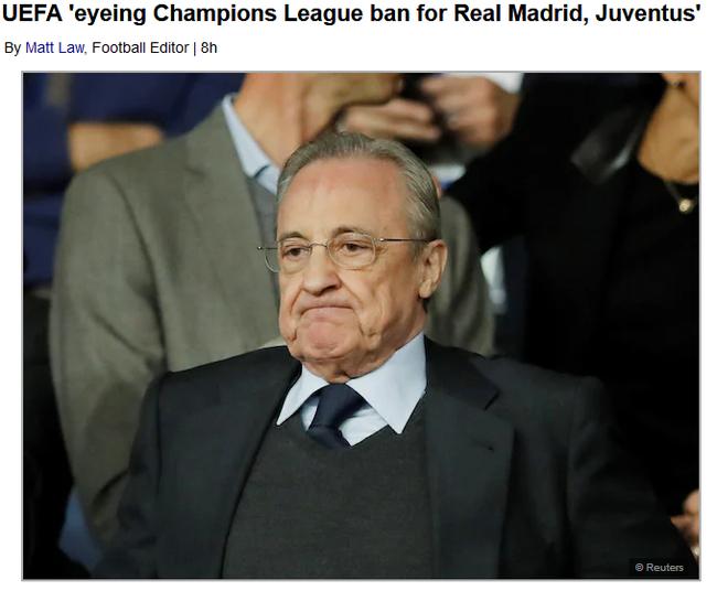 曝欧足联想把皇马尤文逐出欧冠 下赛季也不让踢