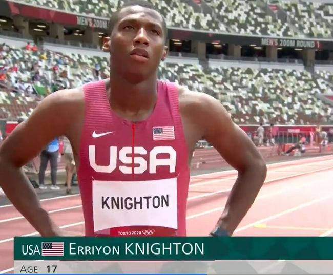 17岁短跑神童奥运首秀 跑200米放60米还轻松第一