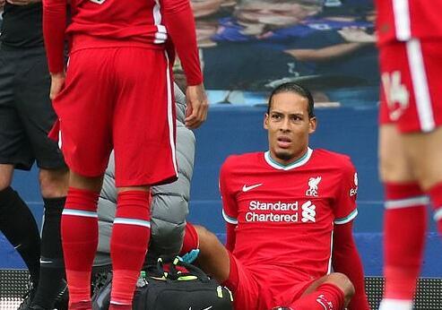 利物浦队长:范戴克伤后心态生动 有这些备选方案