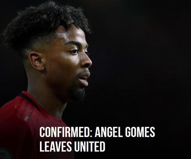 曼联宣布戈麦斯离队
