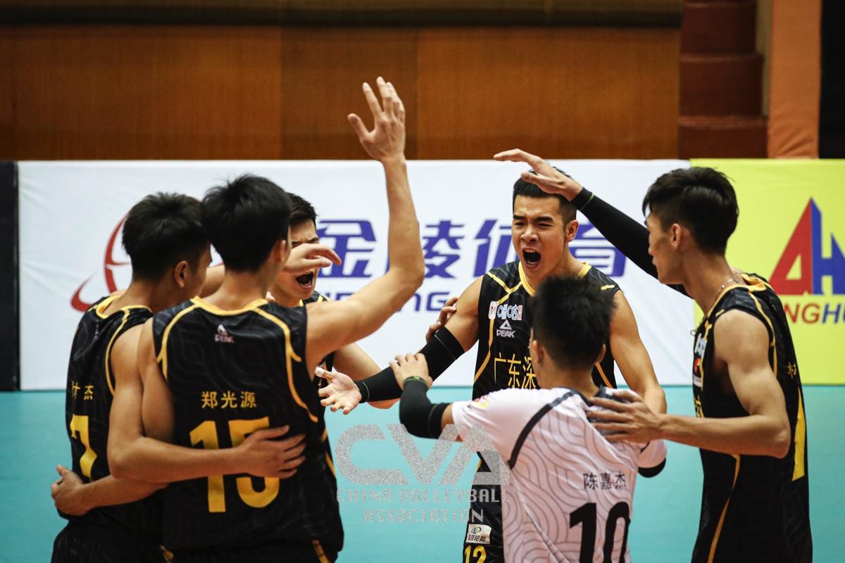 全锦赛小组出线关键球取胜 广东福建赢在好心态