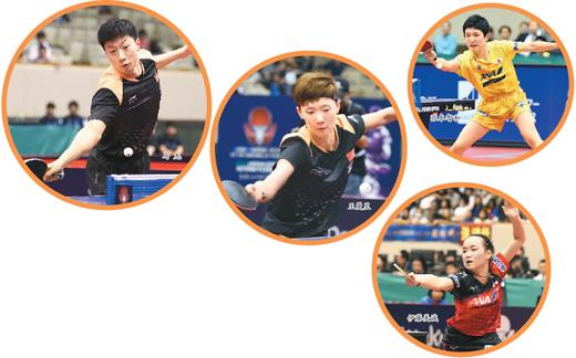 备战东京奥运 中日乒乓争锋