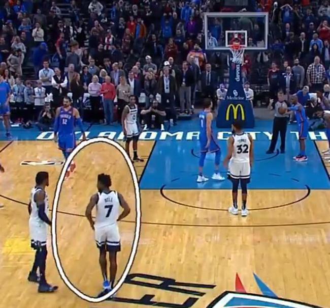 【影片】神操作!保羅控訴Bell塞球衣拖延時間,裁判立即吹T,比賽就此逆轉!-黑特籃球-NBA新聞影音圖片分享社區