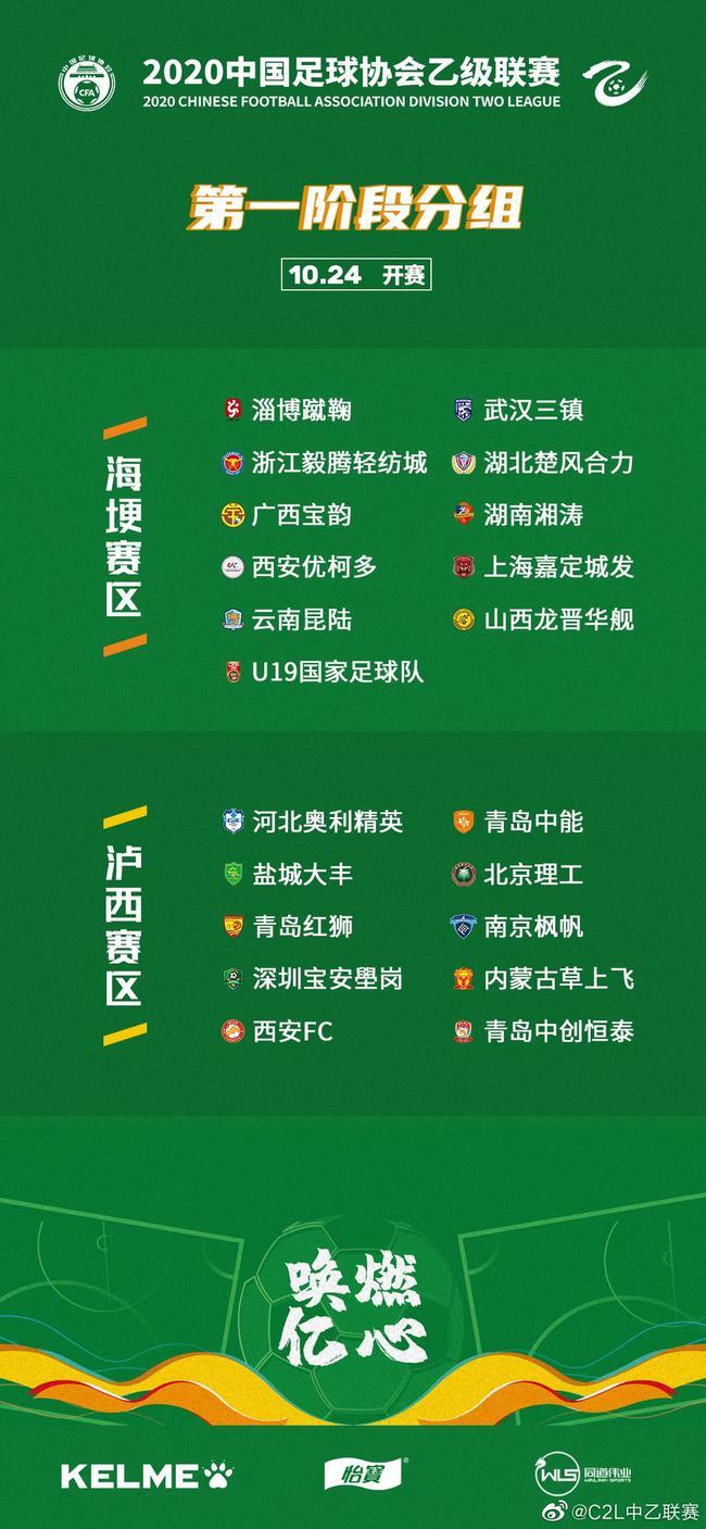 中乙分组公布:武汉三镇、湖北楚风合力同在昆明赛区